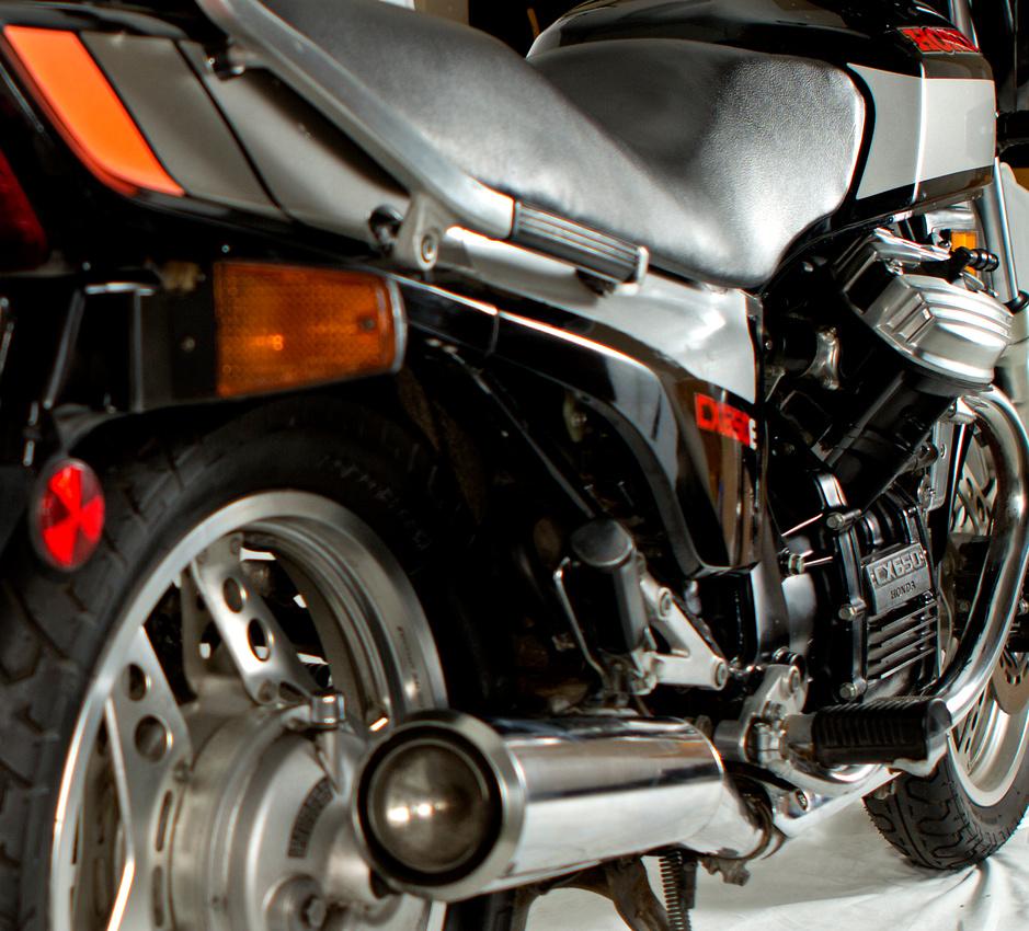 Honda CX650 1984
